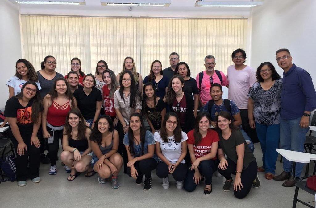 Roda de Conversa com alunos e alunas do Curso de Graduação em Gerontologia